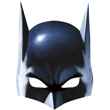 Batman Party Card Mask Favours