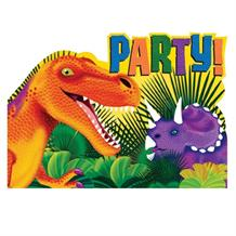 Prehistoric Dinosaur Party Invitations | Invites