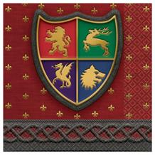 Medieval Thrones Beverage Napkins | Serviettes 25cm