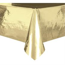 Gold Foil Party Tablecover | Tablecloth
