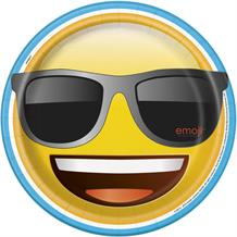 Emoji Sunglasses Party Plates