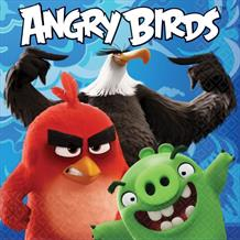 Angry Birds Blue Movie Party Napkins | Serviettes