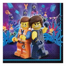 Lego Movie 2 Party Napkins | Serviettes