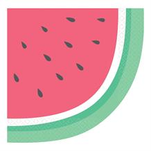 Just Chillin Watermelon 33cm Napkins | Serviettes