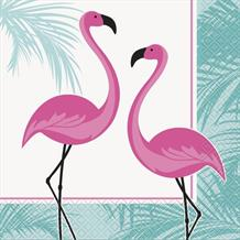 Flamingo Party Napkins | Serviettes