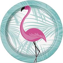 Flamingo Round 17cm Party Dessert | Cake Plate