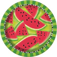 Summer Watermelon Party 23cm Party Plates