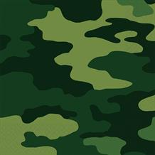 Army Camouflage Party Napkins | Serviettes