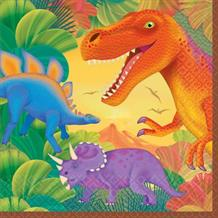 Prehistoric Dinosaur Party Napkins | Serviettes