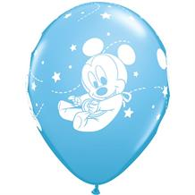 Baby Mickey Mouse Party Latex Balloons