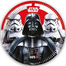 Star Wars Darth Vader & Storm Trooper Party Plates