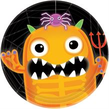Boo Crew Halloween Party Cake Plates