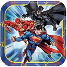 Justice League Party Cake Plates
