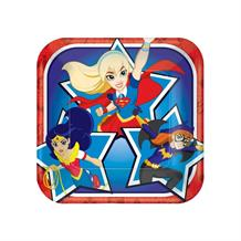 DC Super Hero Girls 18cm Cake Party Plates