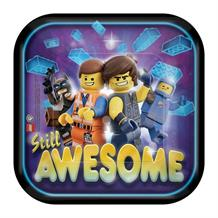 Lego Movie 2 Party Cake Plates