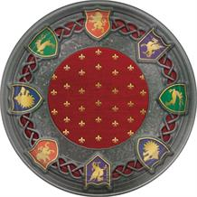 Medieval Thrones Party 18cm Cake Plates