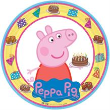 Peppa Pig Cake Party 23cm Party Plates