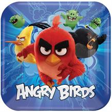 Angry Birds Movie Blue Party Plates