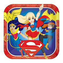 DC Super Hero Girls 23cm Party Plates
