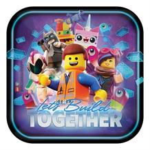 Lego Movie 2 Party 23cm Party Plates