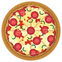 Pizza Party 23cm Plates