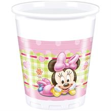 Baby Minnie Mouse Gingham Party Cups