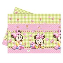 Baby Minnie Mouse Gingham Party Tablecover | Tablecloth
