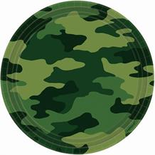 Army Camouflage Party Plates