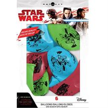Star Wars Ep8 Party Latex Balloons