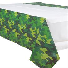 Army Camouflage Party Tablecover | Tablecloth