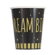 You Did It Graduation Dream Big Gold Party Cups