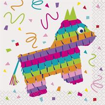 Mexican Fiesta Party Beverage Napkins | Serviettes