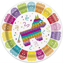 Mexican Fiesta Party 23cm Party Plates
