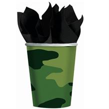 Army Camouflage Party Cups