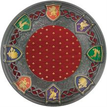 Medieval Thrones Party 26cm Plates