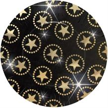 Hollywood Gold Stars Party Plates