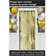 Gold Doorway Hanging Fringe Curtain Party Decoration