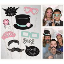 Wedding Photo Booth Party Props
