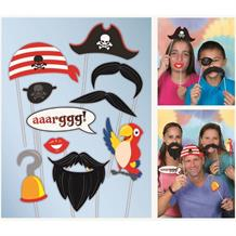 Pirate Photo Booth Party Props