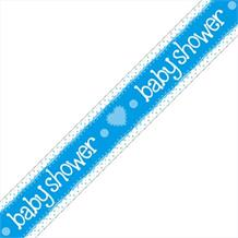 Blue Baby Shower Party Foil Banner | Decoration