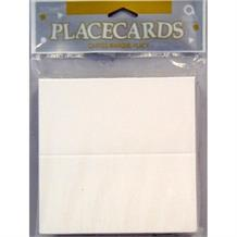 Traditional White Wedding Table Placecards