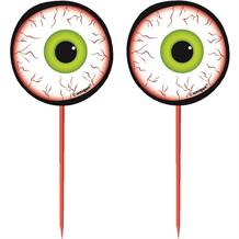 Eye Ball Cake Picks | Toppers Halloween Decoration