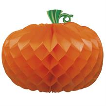 Pumpkin Halloween Party Honeycomb Table Centrepiece | Decoration