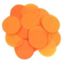 Orange 15mm Paper Table Confetti | Decoration