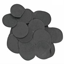 Black 15mm Paper Table Confetti | Decoration