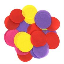 Mixed Colours 15mm Paper Table Confetti | Decoration
