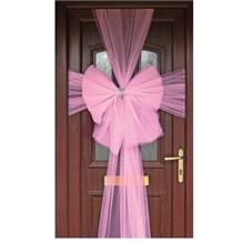 Baby Pink Eleganza Door Bow | Decoration