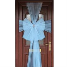 Baby Blue Eleganza Door Bow | Decoration