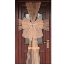 Rose Gold Eleganza Door Bow | Decoration
