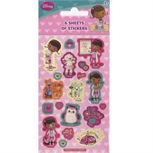 Doc McStuffins Party Bag Favour Sticker Sheets